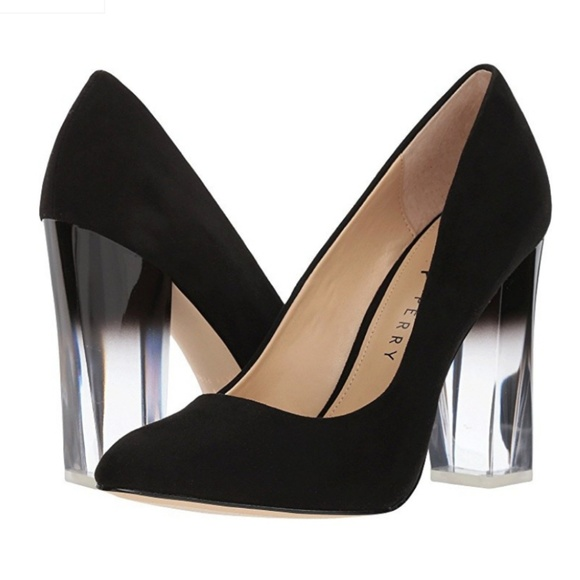 cd6ccc37940 Katy Perry Shoes - 🆕️Katy Perry The A.W. Microsuede Lucite Heel Pump